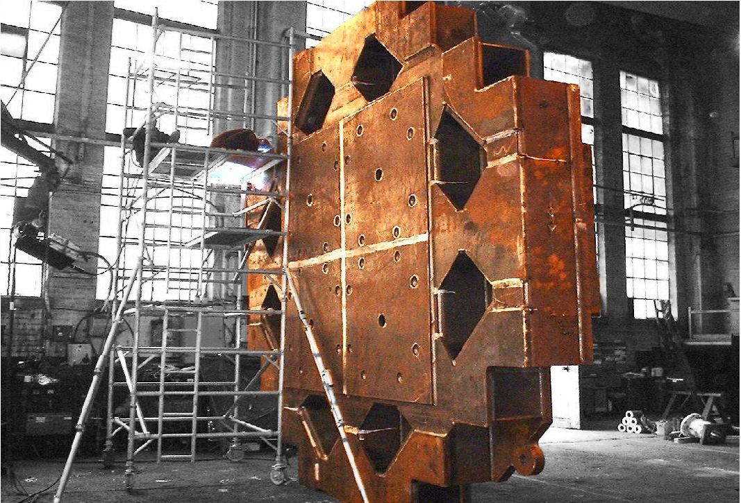 Heavy Industrial Steel Fabrication